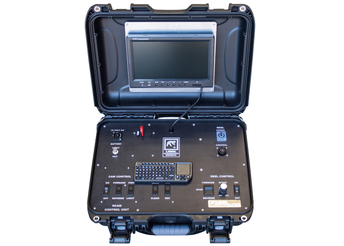 R-CAM XLT Control Unit with DVR for Underwater Wells and Boreholes