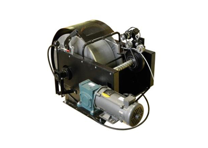 Model 40 Winch with Electric Motor Option