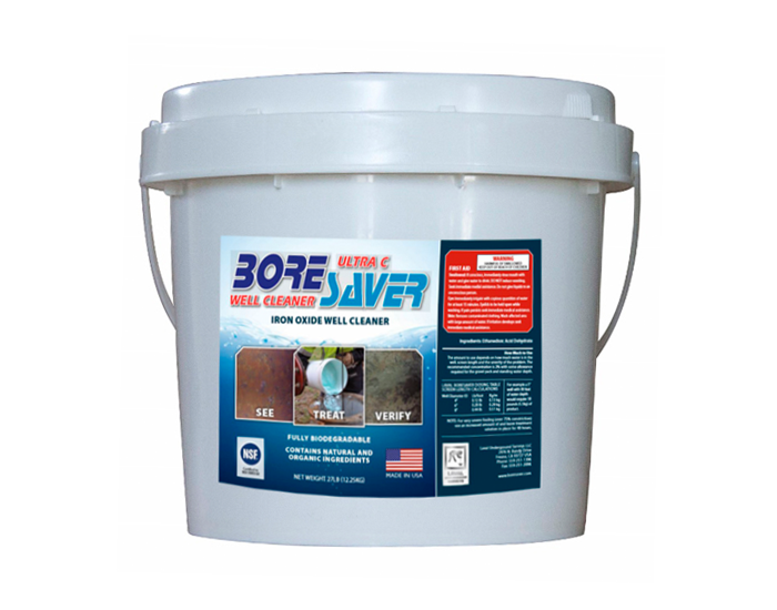 Boresaver Ultra C 27lb Pail for Iron Oxide and Iron Bacteria