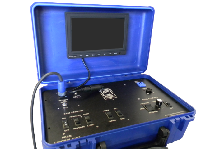R-CAM XLT Control Unit with 9 Inch Monitor/DVR Upgrade