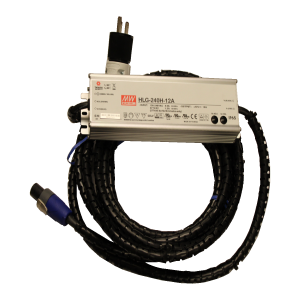 AC/DC Power Adapter for Portable Borehole Camera Systems