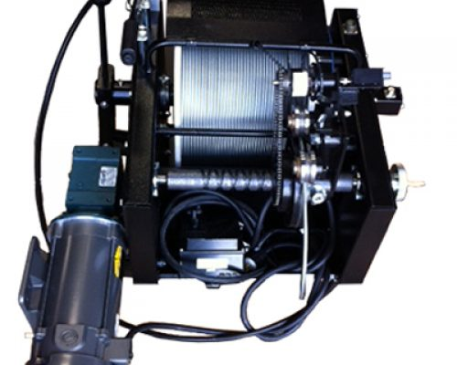 Model 25 Winch With Depths up to 2,500 Feet for Boreholes and Water Wells