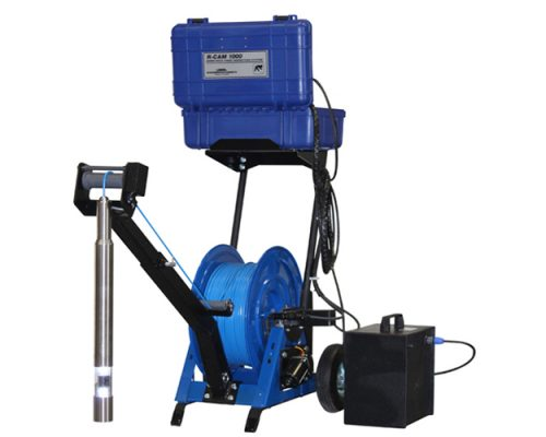 R-CAM Winch of Depths up to 1,300 Feet for Water Wells