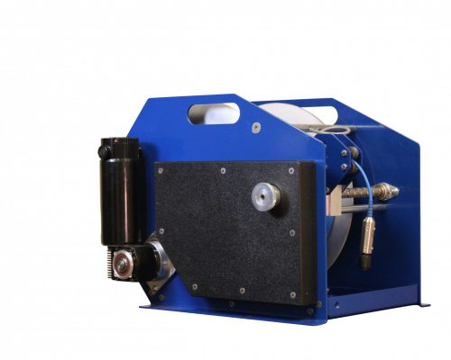DW-2000 Winch with Level Wind for Boreholes and Water Wells With Depths up to 2,000 Feet